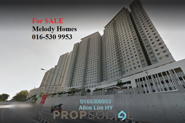 For Sale Condominium at Melody Homes, Farlim Freehold Unfurnished 3R/2B 340k