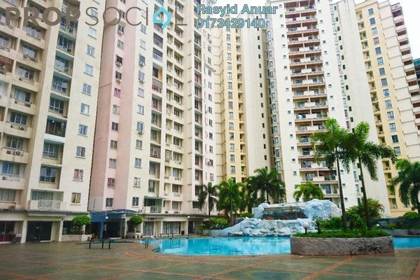 For Rent Condominium at Gurney Heights, Keramat Freehold Semi Furnished 3R/2B 1.7k