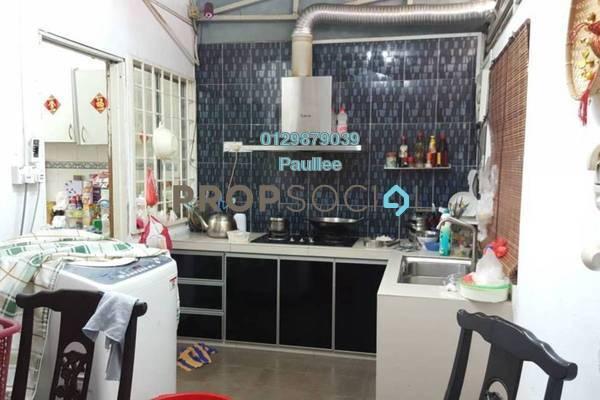 For Sale Terrace at PU12, Bandar Puchong Utama Freehold Semi Furnished 4R/3B 550k