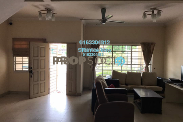 For Sale Terrace at Puteri 12, Bandar Puteri Puchong Freehold Semi Furnished 4R/3B 855k