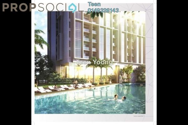 For Sale Serviced Residence at AERA Residence , Petaling Jaya Freehold Semi Furnished 1R/1B 350k