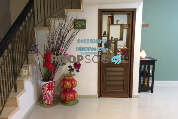 For Sale Terrace at Puteri 12, Bandar Puteri Puchong Freehold Semi Furnished 4R/3B 988k
