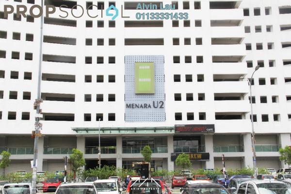 For Rent Condominium at Menara U2, Shah Alam Freehold Semi Furnished 2R/1B 1.15k