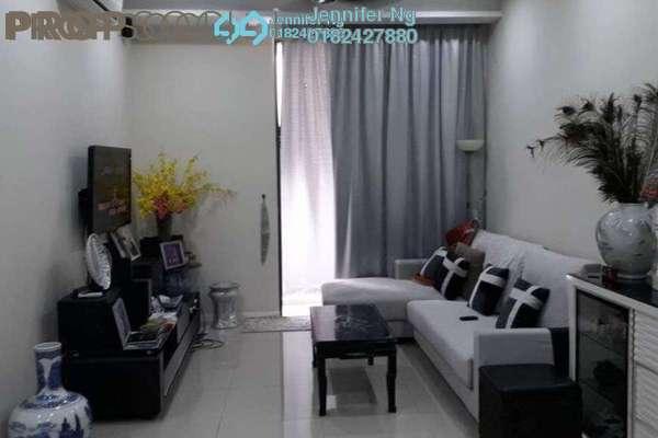 For Sale Condominium at KU Suites, Kemuning Utama Freehold Fully Furnished 3R/2B 680k