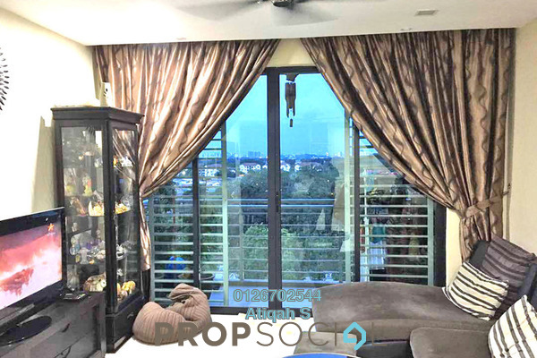 For Sale Condominium at Pinang Heights, Shah Alam Leasehold Fully Furnished 3R/2B 500k