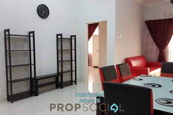 For Rent Condominium at Kristal View, Shah Alam Freehold Fully Furnished 3R/2B 2.2k