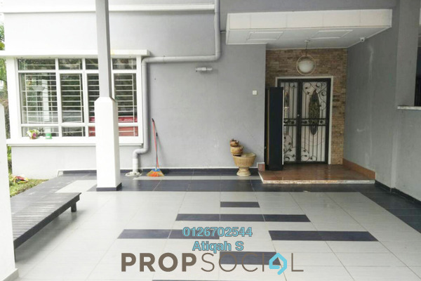 For Rent Terrace at Section 27, Shah Alam Freehold Fully Furnished 4R/3B 3k