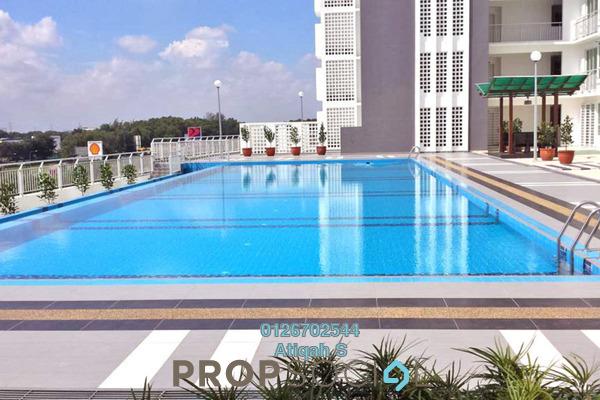 For Sale Condominium at Menara U2, Shah Alam Freehold Semi Furnished 2R/2B 300k