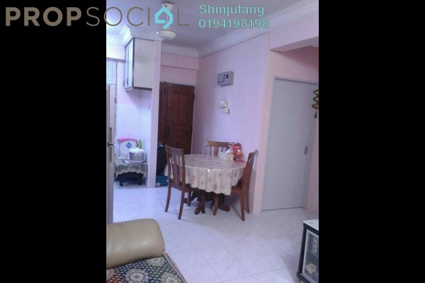 For Sale Apartment at Desa Rahmat Apartment, Relau Freehold Fully Furnished 3R/2B 260k