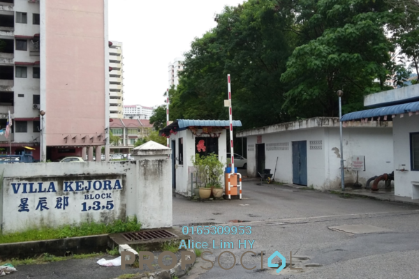 For Sale Condominium at Villa Kejora, Relau Freehold Semi Furnished 3R/2B 260k