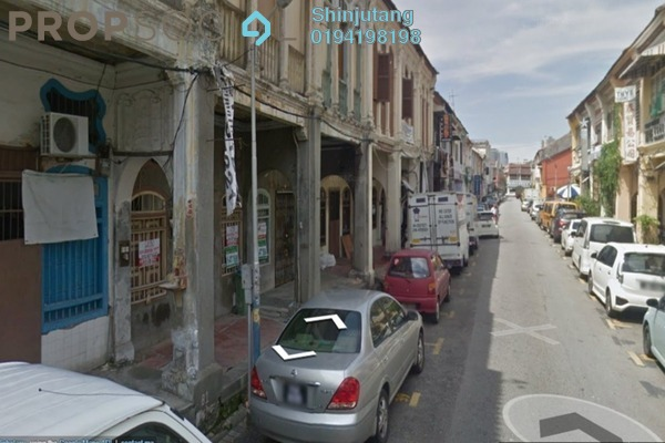 For Rent Shop at Lebuh Melayu, Georgetown Freehold Unfurnished 0R/0B 1.8k