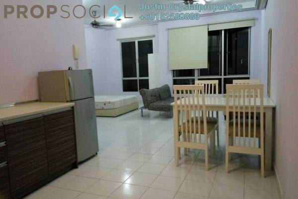 For Sale Condominium at Casa Tiara, Subang Jaya Leasehold Semi Furnished 1R/1B 350k