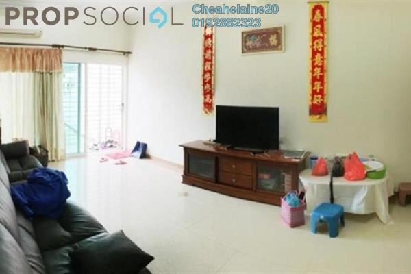 For Sale Terrace at Taman Bukit Maluri, Kepong Freehold Semi Furnished 4R/3B 830k