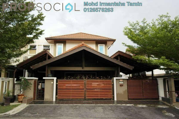 For Sale Semi-Detached at Anjung Suasana, Bandar Seri Putra Freehold Semi Furnished 6R/5B 1.4m