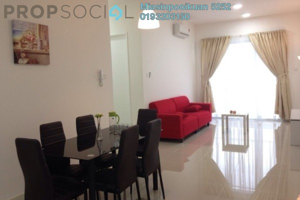 For Rent Condominium at Scenaria, Segambut Freehold Fully Furnished 3R/2B 1.9k