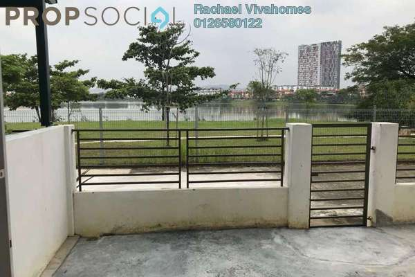 For Rent Townhouse at Summer Homes, Puchong Freehold Semi Furnished 3R/3B 1.6k