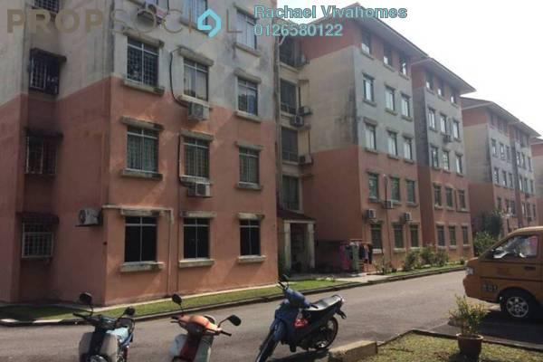 For Sale Apartment at Taman Kinrara, Bandar Kinrara Freehold Semi Furnished 3R/2B 280k