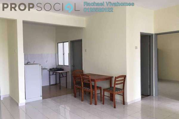 For Rent Apartment at Sutramas, Bandar Puchong Jaya Freehold Semi Furnished 3R/2B 1.2k