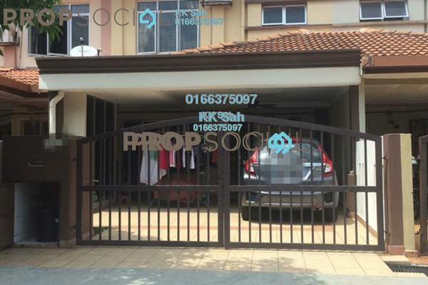 For Sale Link at Taman Pinggiran Mahkota, Bandar Mahkota Cheras Leasehold Fully Furnished 4R/3B 490k