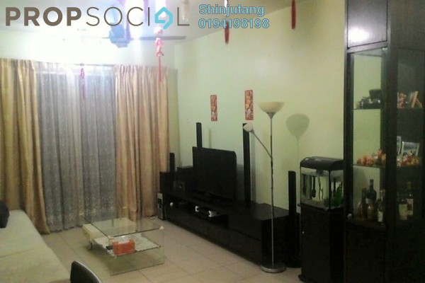 For Sale Apartment at Centro View, Butterworth Freehold Fully Furnished 3R/2B 410k
