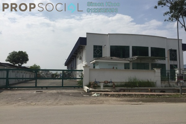 For Sale Factory at Alam Jaya Industrial Park, Kuala Selangor Freehold Unfurnished 0R/8B 7m