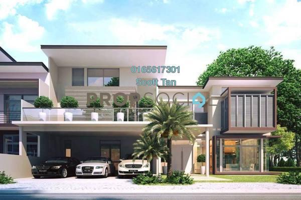 For Sale Semi-Detached at The Vantage, Bandar Mahkota Cheras Freehold Unfurnished 5R/6B 1.33m