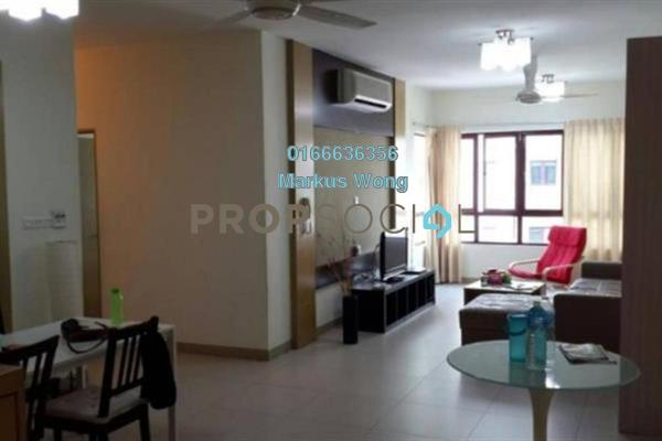 For Sale Condominium at Savanna 1, Bukit Jalil Freehold Fully Furnished 3R/2B 770k