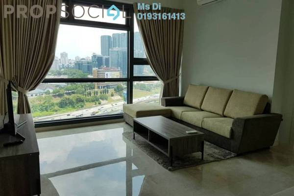 For Rent Condominium at Vogue Suites One @ KL Eco City, Mid Valley City Freehold Fully Furnished 1R/1B 3.2k