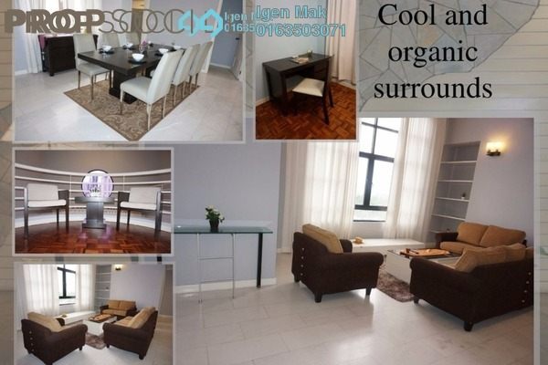 For Rent Condominium at Lanson Place, Bukit Ceylon Freehold Fully Furnished 3R/3B 3.5k