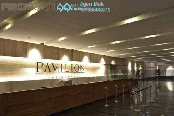 For Rent Condominium at Pavilion Residences, Bukit Bintang Freehold Fully Furnished 3R/3B 7.5k