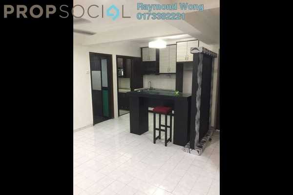 For Sale Apartment at Aman Satu, Kepong Freehold Semi Furnished 3R/2B 298k