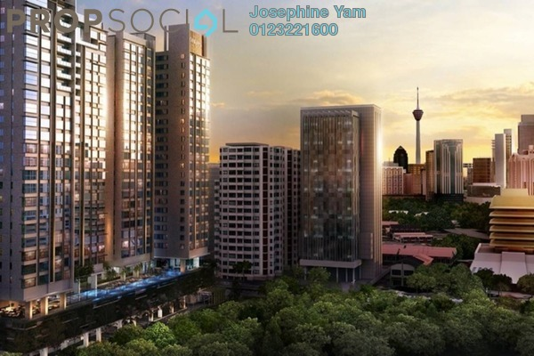 For Rent Condominium at The Horizon Residences, KLCC Freehold Semi Furnished 2R/2B 2.6k