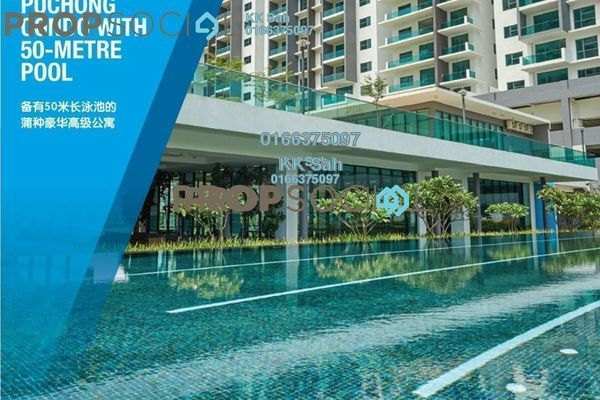 For Sale Condominium at X2 Residency, Puchong Freehold Semi Furnished 5R/5B 789k
