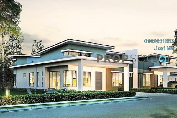 For Sale Semi-Detached at Taman Indah Puteri, Sepang Leasehold Unfurnished 4R/2B 484k