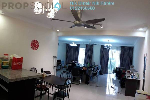 For Sale Condominium at Platinum Lake PV16, Setapak Freehold Semi Furnished 3R/2B 599k
