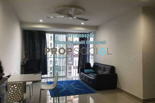 For Rent SoHo/Studio at Section 13, Shah Alam Freehold Fully Furnished 2R/1B 1.55k