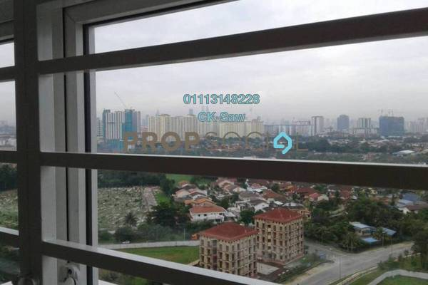 For Rent Condominium at M3 Residency, Gombak Freehold Semi Furnished 3R/2B 1.3k