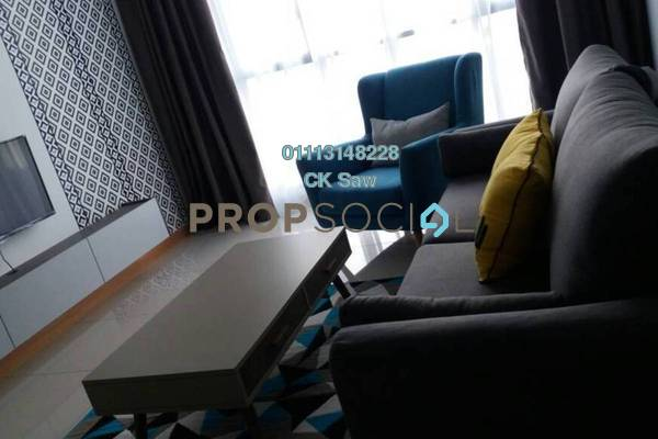 For Sale Condominium at KL Gateway, Bangsar South Freehold Fully Furnished 2R/2B 950k