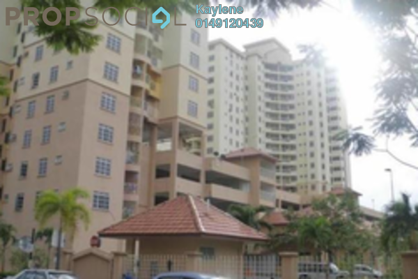 For Rent Condominium at Zamrud Apartment, Old Klang Road Freehold Fully Furnished 3R/2B 1.25k
