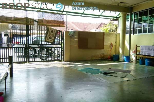 For Sale Terrace at Lembah Keramat, Wangsa Maju Leasehold Semi Furnished 3R/2B 549k
