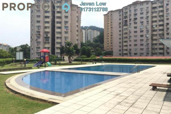 For Sale Apartment at Aman Dua, Kepong Freehold Semi Furnished 3R/2B 299k