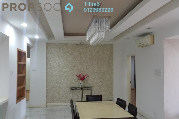 For Sale Condominium at Spring Villa, Subang Jaya Leasehold Fully Furnished 4R/2B 950k