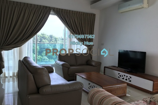 For Rent Serviced Residence at Surian Residences, Mutiara Damansara Freehold Fully Furnished 4R/5B 5k