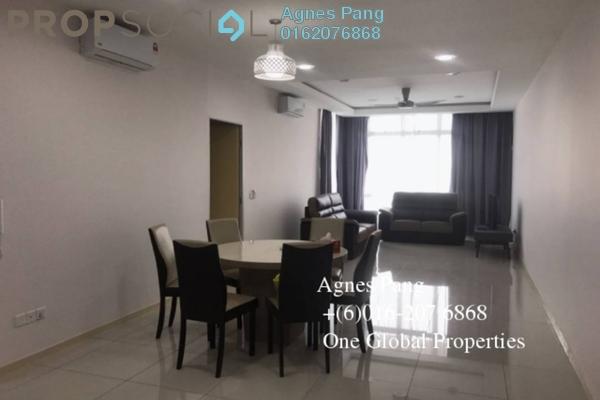 For Rent Condominium at Taman Skudai Baru, Skudai Freehold Fully Furnished 3R/3B 2.4k