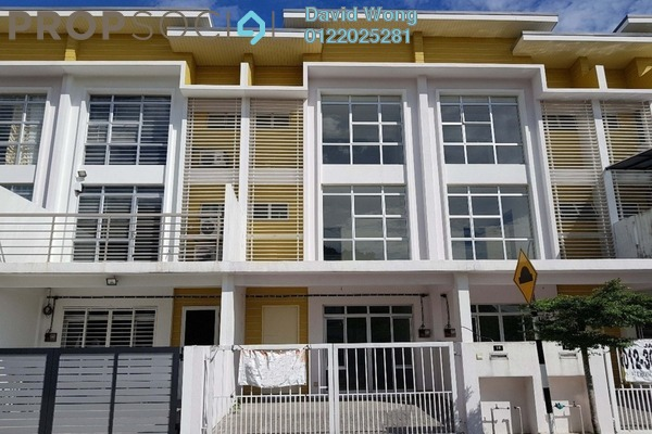 For Sale Terrace at Bayu Heights, Seri Kembangan Freehold Unfurnished 4R/4B 800k