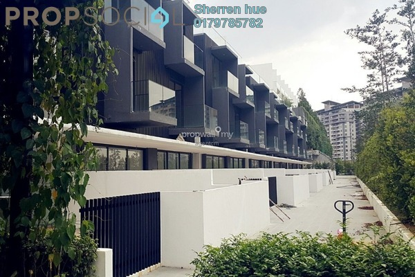 For Rent Townhouse at Empire Residence, Damansara Perdana Freehold Fully Furnished 5R/6B 6.2k