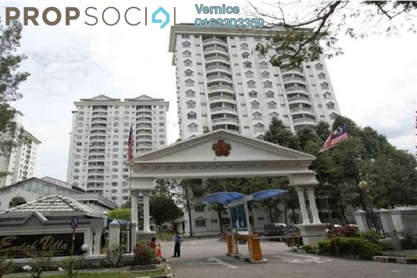 For Sale Condominium at Endah Villa, Sri Petaling Freehold Unfurnished 3R/2B 460k
