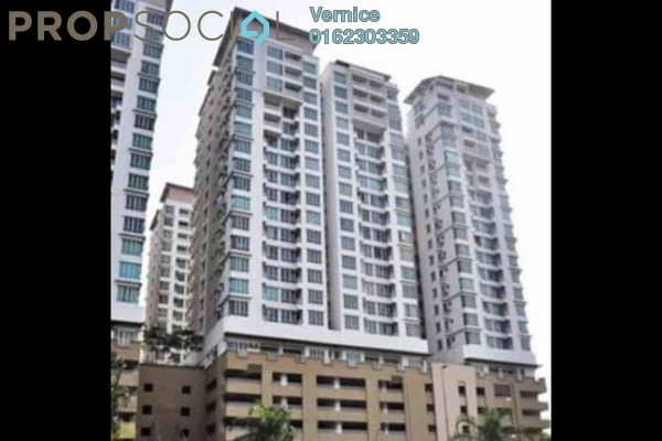 For Sale Condominium at Casa Tiara, Subang Jaya Freehold Semi Furnished 0R/1B 356k