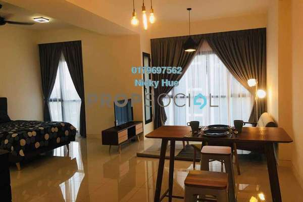 For Rent Serviced Residence at BayBerry Serviced Residence @ Tropicana Gardens, Kota Damansara Freehold Fully Furnished 0R/0B 2.5k
