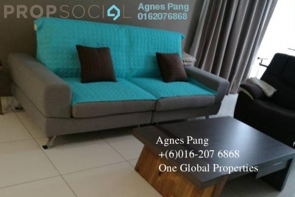 For Rent Condominium at Taman Skudai Baru, Skudai Freehold Fully Furnished 3R/3B 2.8k